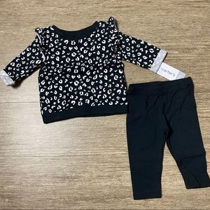 Carter's Two Piece Baby Girls Pants Set